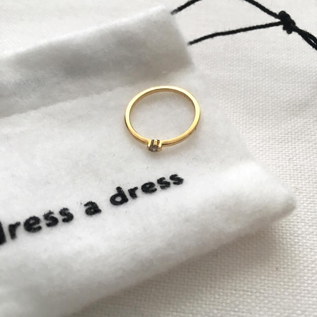 agete(アガット)のdress a dress ドレスアドレス リトル・ケイト・リング ダイヤモンド レディースのアクセサリー(リング(指輪))の商品写真