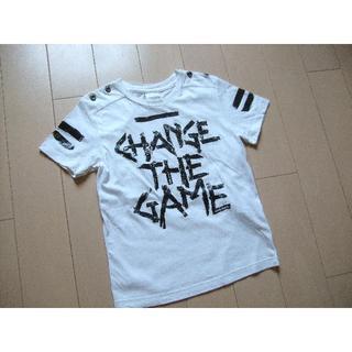 ディーゼル(DIESEL)のディーゼル キッズ Tシャツ 男の子 白★半袖 (Tシャツ/カットソー)