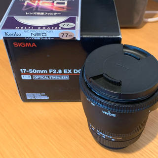 SIGMA - SIGMA レンズ 17-50mm F2.8 EX