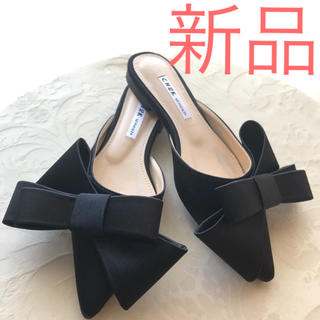 ZARA - フラットサンダル サンダル リボン パンプス 韓国ファッション