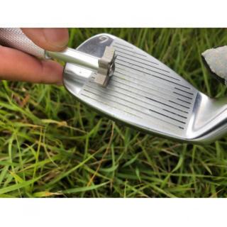 新品★ゴルフクラブ アイアン溝磨き シルバー