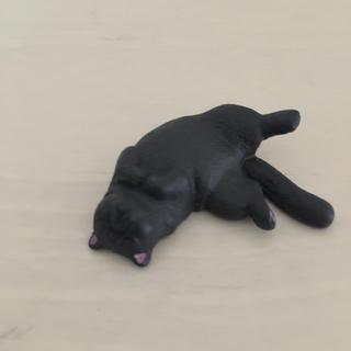 ガチャガチャ  のんきだ寝 ネコ(その他)