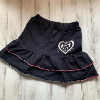【size120 美品】プリキュア スカート