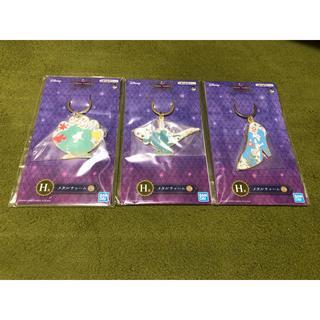 Disney - アラジン 一番くじ メタルチャーム(アラジン、シンデレラ、アリエル)3セット