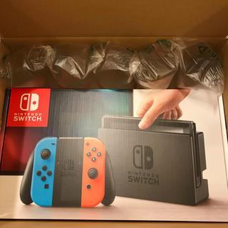 Nintendo Switch - 【新品 未使用品】任天堂◇ニンテンドースイッチ 本体◇ネオンブルーネオンレッド