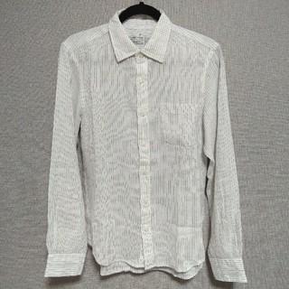 ムジルシリョウヒン(MUJI (無印良品))の無印良品 リネンシャツ メンズ Mサイズ(シャツ)