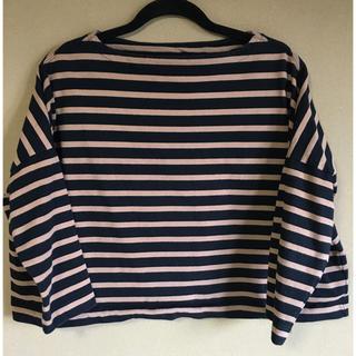 ドゥーズィエムクラス(DEUXIEME CLASSE)のTWW ビッグマリンボートネックシャツ(カットソー(長袖/七分))
