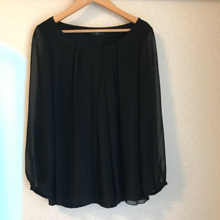 INED - 美品 INED 黒 カットソー