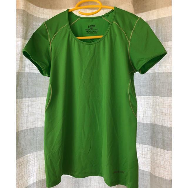 patagonia(パタゴニア)のパタゴニア 登山 スポーツ ウェア 半袖 Tシャツ 最終価格 スポーツ/アウトドアのランニング(ウェア)の商品写真