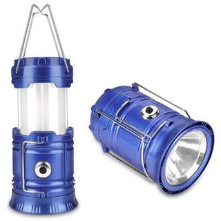 【バカ★売れ】LEDランタン折り畳み式懐中電灯スライド式