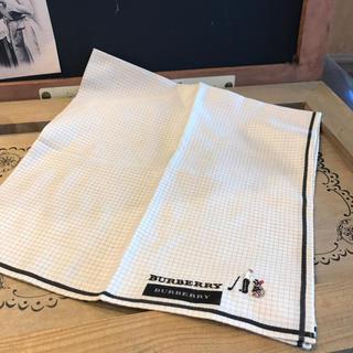 BURBERRY - BURBERRY ハンカチ  新品・タグ付き