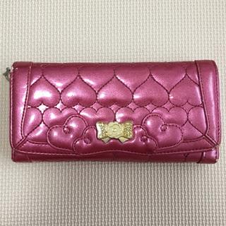 リズリサ(LIZ LISA)の♡LIZ LISA(リズリサ) 長財布 ハート ピンク♡(財布)