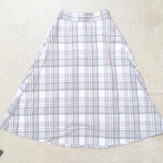 GU - チェック柄スカート