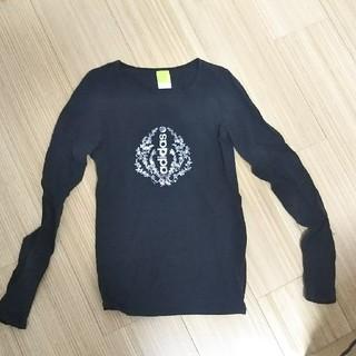アディダス(adidas)のアディダス adidas  Tシャツ ブラック(Tシャツ(長袖/七分))