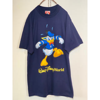 Disney - USA製 disney ドナルドTシャツ 美品