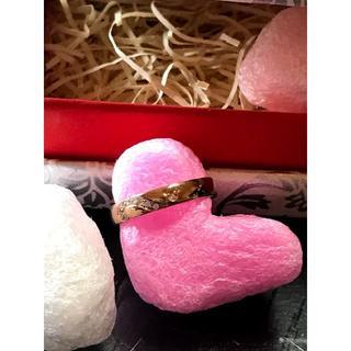 ザキッス(THE KISS)のTHE KISS ディズニー 隠れミッキー / シルバーリング ダイヤ入 7号①(リング(指輪))