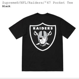 Supreme - Supreme®/NFL/Raiders/Pocket Tee シュプリーム