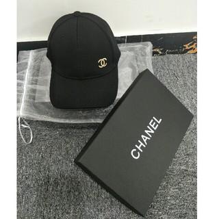 シャネル(CHANEL)のCHANEL シャネル キャップ 野球 ブラック 男女兼用 (キャップ)