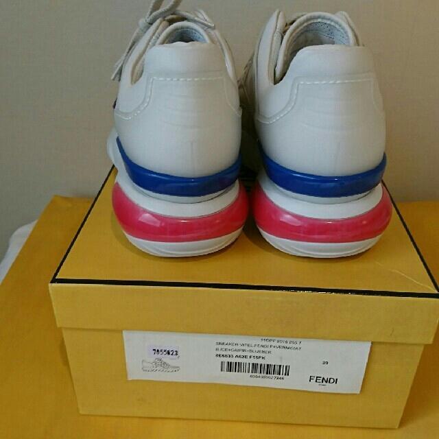 FENDI(フェンディ)のフェンディスニーカー  フィラ サイズ8 メンズの靴/シューズ(スニーカー)の商品写真