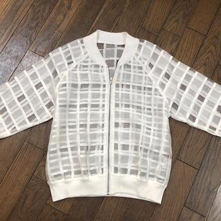 イング(INGNI)のW.a.z.P シースルーファスナーJK(Tシャツ(長袖/七分))