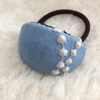 ミナペルホネン(mina perhonen)の136 ミナペルホネン ヘアゴム handmade tambourine(ヘアアクセサリー)