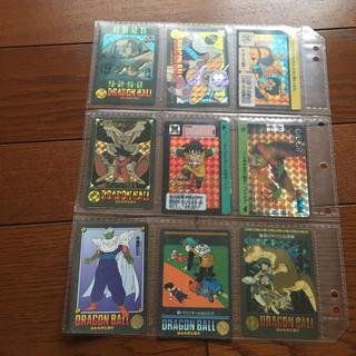 バンダイ(BANDAI)のドラゴボールカード(当時物)合計9枚(その他)