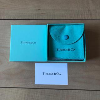 ティファニー(Tiffany & Co.)のTiffany 空箱 ポーチ(ショップ袋)