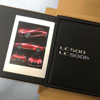 トヨタ(トヨタ)のレクサス LC500 オーナーズカタログ 非売品(ノベルティグッズ)
