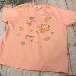 familiar - ファミリア♡110㎝ Tシャツ 半袖 リアちゃん