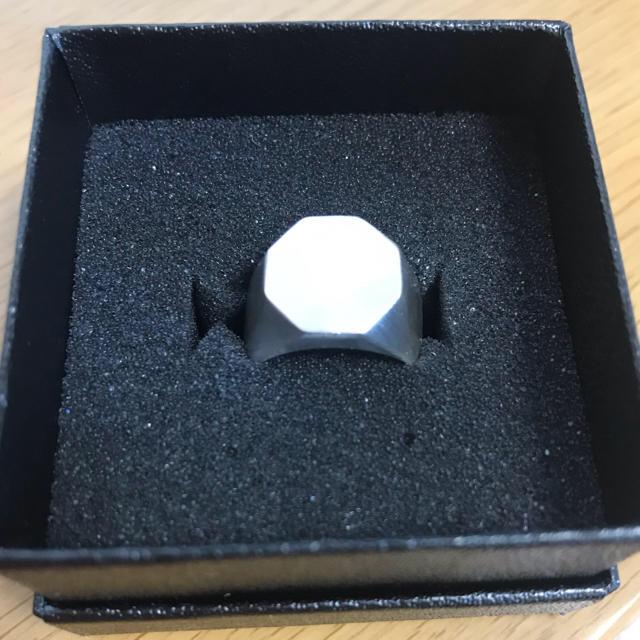 Maison Martin Margiela(マルタンマルジェラ)のリング 13号 brass  なかむ  メンズのアクセサリー(リング(指輪))の商品写真