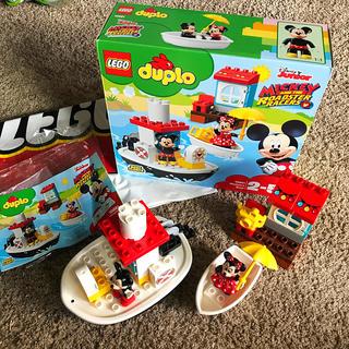 Lego - LEGO duplo レゴ デュプロ ミッキー ミニー ロードレーサーズ ボート