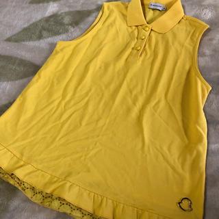 モンクレール(MONCLER)のモンクレール♡ノースリポロシャツ(ポロシャツ)