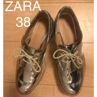 ZARA - ローファー モカシン ヒール ZARA WOMAN38