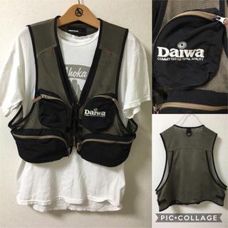 ダイワ(DAIWA)のフィッシングベスト メッシュベスト ダイワDAIWA Mサイズ(ベスト)