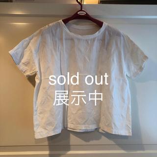 コットンTシャツ sold out 展示中(Tシャツ(半袖/袖なし))