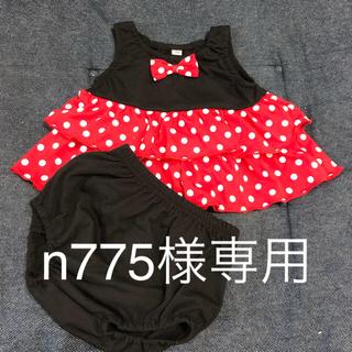 ニシマツヤ(西松屋)のミニー セットアップ 70(ワンピース)