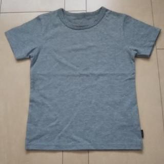 ベルメゾン(ベルメゾン)の半袖Tシャツ 無地グレー 120(Tシャツ/カットソー)