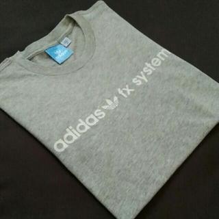 adidas - adidas アディダス Tシャツ メンズ M グレー(灰色)