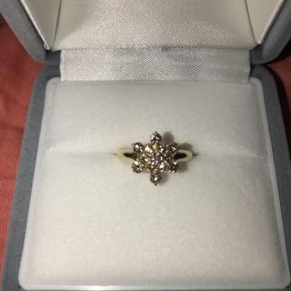 k18  ダイヤモンドリング  (リング(指輪))