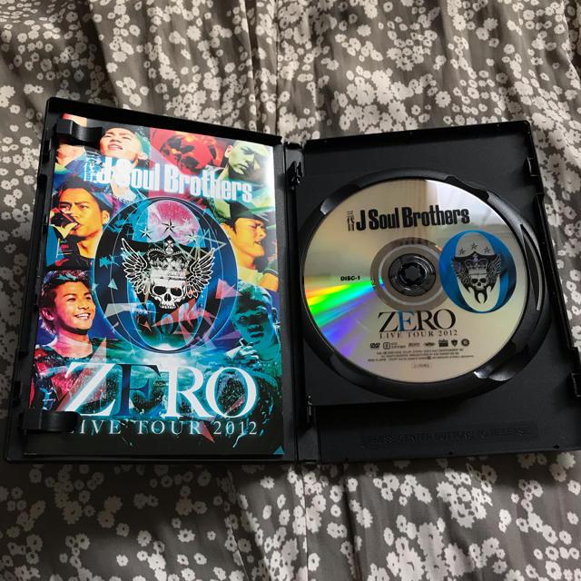 三代目 J Soul Brothers(サンダイメジェイソウルブラザーズ)の三代目J Soul Brothers LIVE TOUR 0〜ZERO〜 エンタメ/ホビーのDVD/ブルーレイ(ミュージック)の商品写真