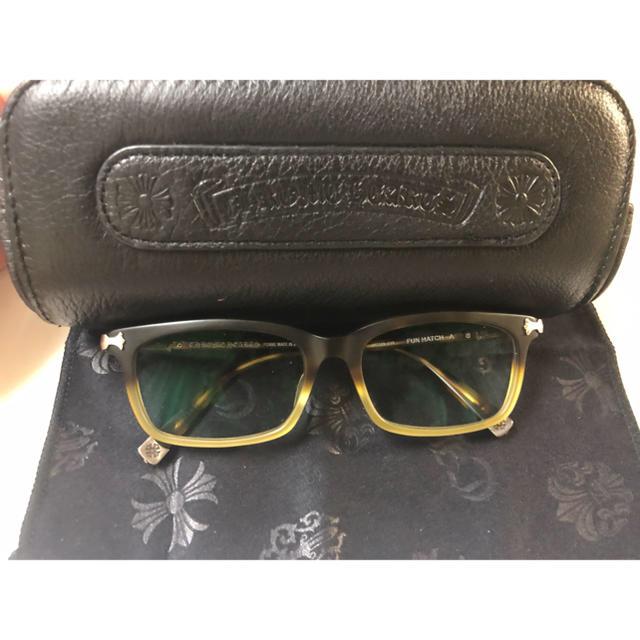 Chrome Hearts(クロムハーツ)のクロムハーツ伊達メガネ メンズのファッション小物(サングラス/メガネ)の商品写真