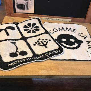 コムサイズム(COMME CA ISM)のMONO COMME CA ハンドタオル 2枚セット  新品・タグ付き(ハンカチ)