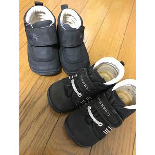 バーバリー(BURBERRY)のバーバリー キッズ 靴(スニーカー)