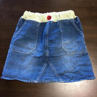 シマムラ(しまむら)のバースデイ LAGKAW デニム風スカート 120センチ (スカート)