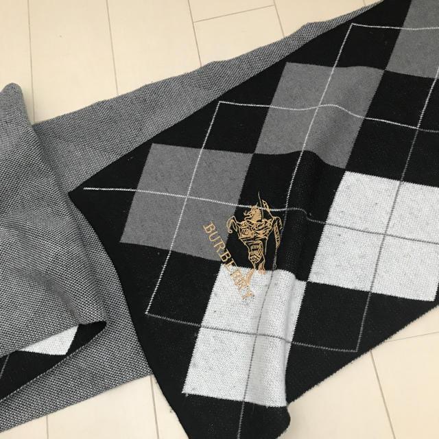 BURBERRY(バーバリー)のバーバリーマフラー メンズのファッション小物(マフラー)の商品写真