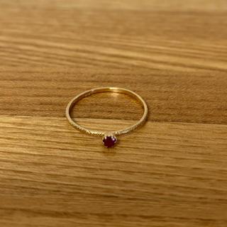 レイジースーザン(LAZY SUSAN)のレイジースーザン 天然石ゴールドリング(リング(指輪))