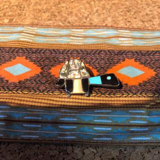 インディアン(Indian)のインディアンジュエリー ズニ族 ペンダントトップ カメ(ネックレス)