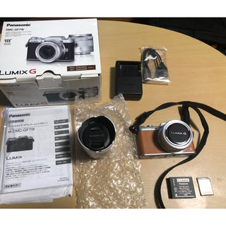 Panasonic - 『Panasonic』  LUMIX G  【DMC-GF7W】ブラウン