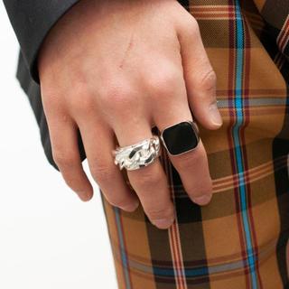 マルタンマルジェラ(Maison Martin Margiela)の【新品】19SS完売 MAISON MARGIELA CHAIN RING(リング(指輪))