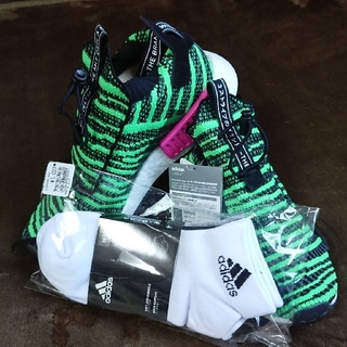 アディダス(adidas)のadidas originals スニーカー26cm 新品ソックス『3足付き』(その他)
